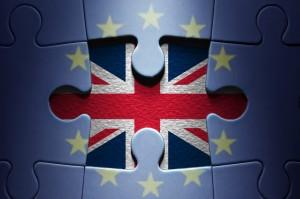 Brexit concept jigsaw puzzle